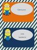 Minion Job Chart Revisable