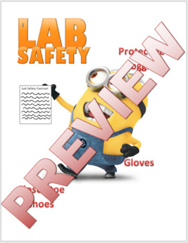 Minion Lab Safety Poster
