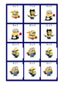 Minion Multiplication Cards