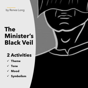 Minister's Black Veil Activity Pack, Nathaniel Hawthorne, Theme