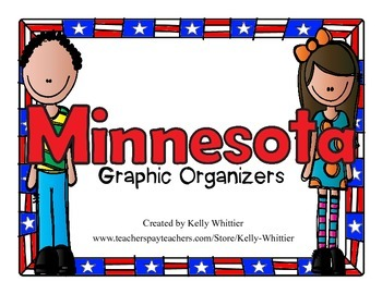 Minnesota Graphic Organizers (Perfect for KWL charts and g