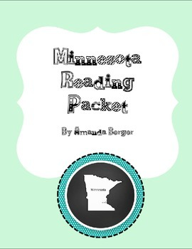 Minnesota Reading Packet