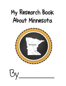 Minnesota Research Student Book