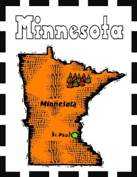 Minnesota State Symbols and Research Packet
