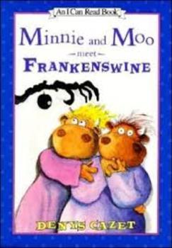 Minnie and Moo Meet Frankenswine Reading Packet