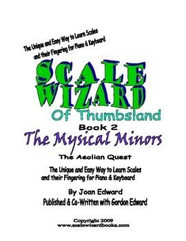 Minor Scae Wizard Piano Book - Minor Scales