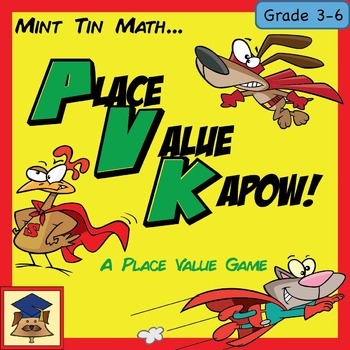 Mint Tin Math: Place Value Kapow!