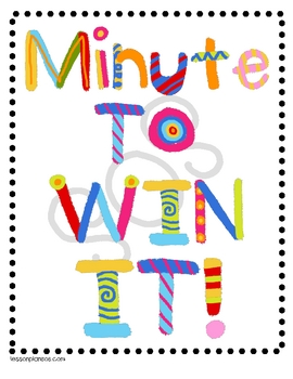 Minute to Win It Holiday Party
