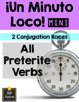 Minuto Loco Mini - Preterite Verbs - All Forms - Conjugati