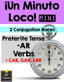 Minuto Loco Mini - Preterite AR Verbs + car, gar, zar - Co