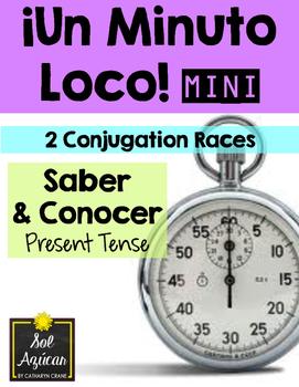 Minuto Loco Mini - Saber and Conocer Present Tense - Conju