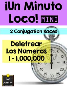 Minuto Loco Mini - Spelling Numbers 1 - 1,000,000 - Deletr