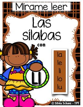 Las silabas con Ll