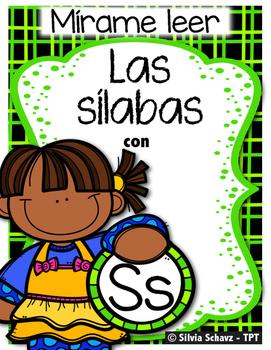 Mírame leer - Las silabas con Ss
