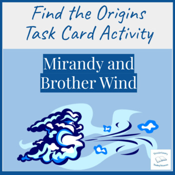 Mirandy and Brother Wind McKissack Literacy Center Find Or