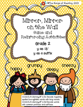 """Mirror Mirror on the Wall """"y as /e/ and y as a suffix"""""""