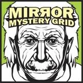 Mirror Mystery Grid Drawing - Albert Einstein