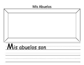Mis Abuelos Grandparents' Day Activity Spanish
