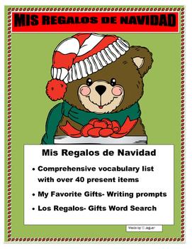 Mis Regalos de Navidad- Create your  Gifts Wish List in Spanish