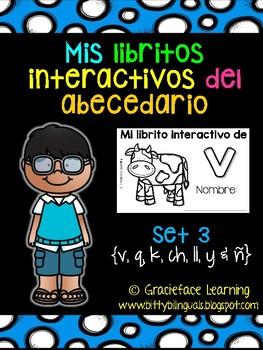 Mis libritos interactivos del abecedario - Spanish Interac