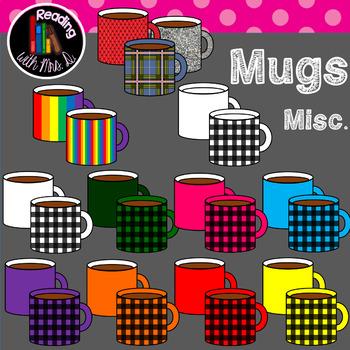 Misc Mugs Clip Art