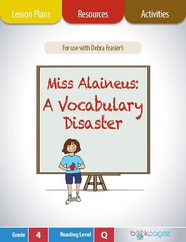 Miss Alaineus Lesson Plans & Activities Package, Fourth Gr