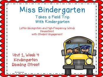 Miss Bindergarten Takes a Field Trip,Kindergarten, PowerPo