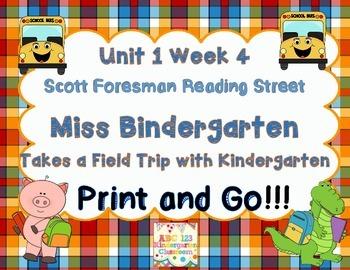 Miss Bindergarten Takes a FieldTrip With Kindergarten -Pri
