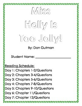 Miss Holly is Too Jolly: Holiday Book Club  (Questions by