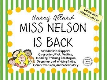 Miss Nelson is Back by Harry Allard:    A Complete Literat