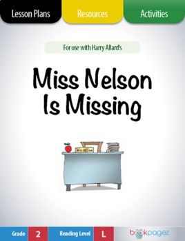 Miss Nelson is Missing Lesson Plans & Activities Package,