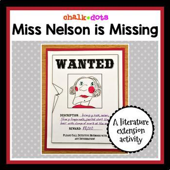 Miss Nelson is Missing - Literature Extension Activity