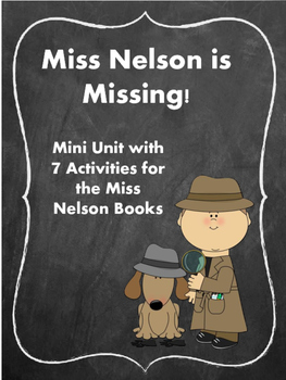 Miss Nelson is Missing! Back to School, First day of Schoo