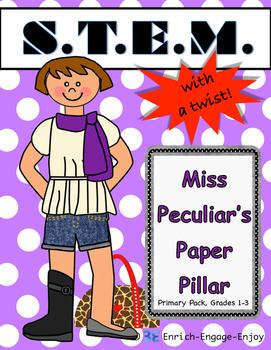 Miss P's Paper Pillar (Primary) STEM with a Twist