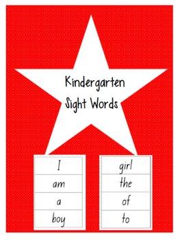 Miss Sticker's Toolbox Kindi sight words set