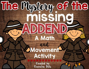 Missing Addend Around the Room Activity