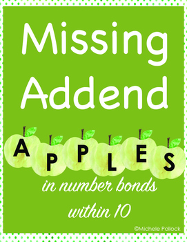 Missing Addend Number Bonds
