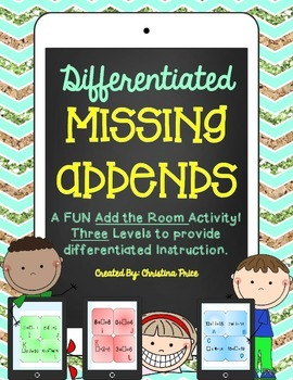 Differentiated Missing Addends