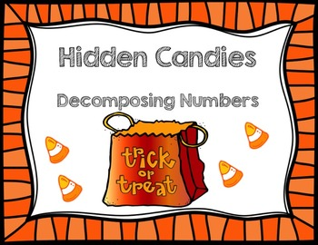 Missing Halloween Candy- Decomposing Numbers to 10