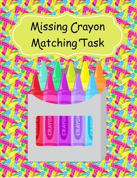 Missing Crayon Matching Task