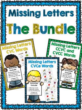 Missing Letters Bundle