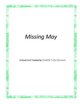 Missing May Novel Unit Plus Grammar