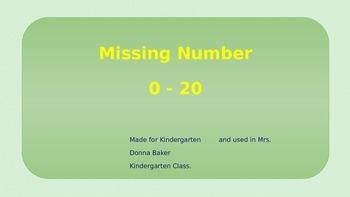 Missing Number 0-20