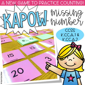 Missing Number 1-20 Kapow - Math Game / Center