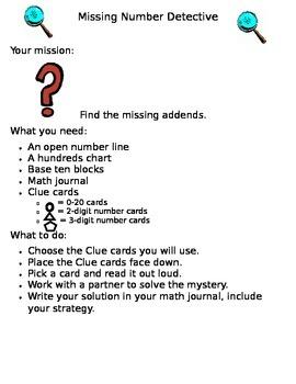 Missing Number Detective