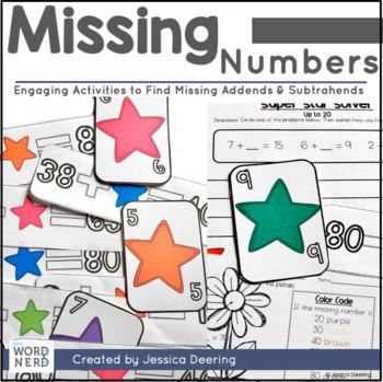 Missing Number- Finding Addends & Subtrahends