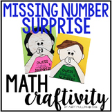 Missing Number Math Craft