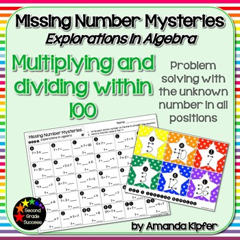 Missing Number Mysteries: Explorations in Algebra Level 4: