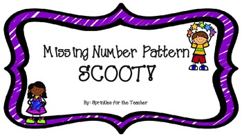 Missing Number Pattern Scoot