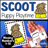 Missing Numbers Scoot Game